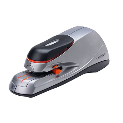 Swingline Optima 20 Electric Stapler FULL STRIP - 20 SHT CAPACITY SILVER/BLACK