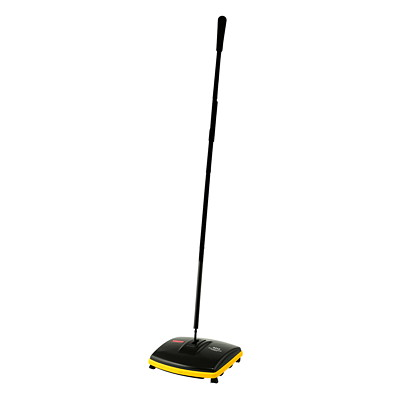 "Rubbermaid Dual Action Sweeper LIGHTWEIGHT 6.5"" SWEEP PATH"