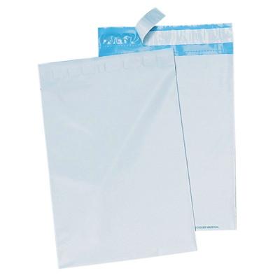 Enveloppes en poly 14 1/2 po x 19 po Crownhill BLANC