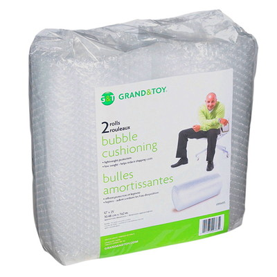 Grand & Toy Bubble Wrap Cushioning 2 ROLLS