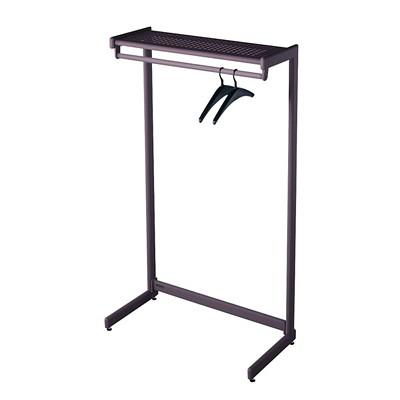 Quartet 1-Shelf Free-Standing Coat Rack   Grand & Toy