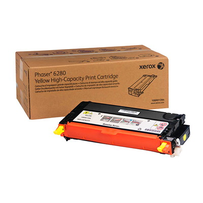 Xerox Phaser Toner Cartridge YELLOW HIGH YIELD 5900