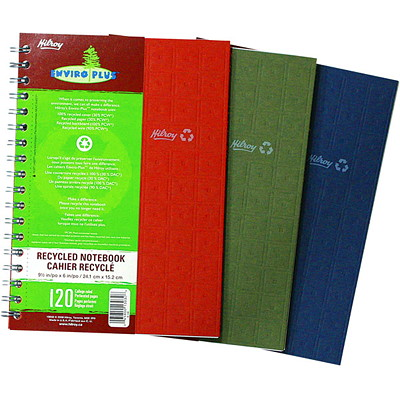 Enviro-Plus Recycled Notebook 11X8.5 120 PAGES - ASST. CLRS