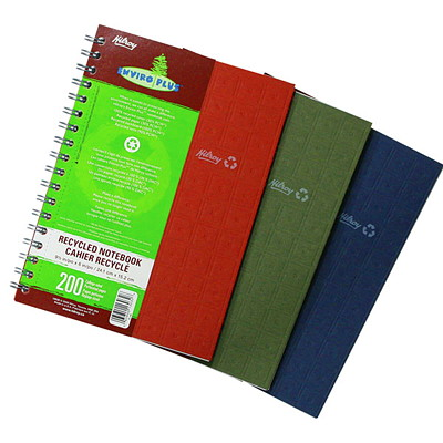 Enviro-Plus Recycled Notebook 9.5X6 PERSONAL SIZE 200 PAGES