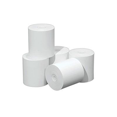 "McDermid BPA-Free Thermal Paper Rolls, Receipt, White, 2 1/4"", 225', 12/BX PK/12 2-3/4"" DIAMETER"