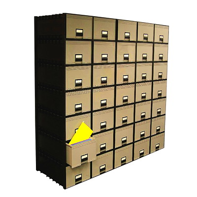 Storex Stackable Filing Drawer SIZE 24IN DEEP STACKS 8
