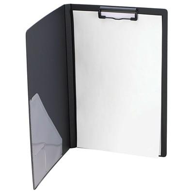"VLB Duraply Legal-size (8 1/2"" x 14"") Clipboard Portfolio 3 PLY POLY BLACK PVC FREE ACID FREE"