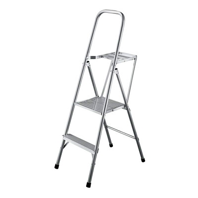 Louisville 4-ft Light-Duty Aluminum Platform Ladder CSA GRADE 3  200 LBS