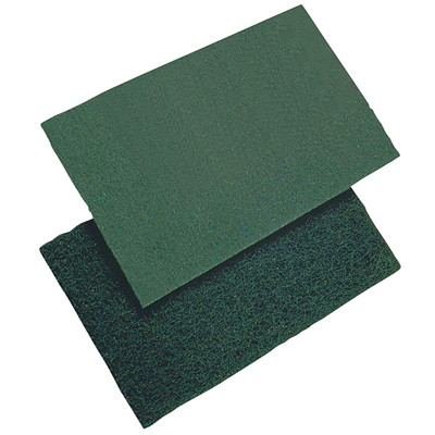 PRIME SOURCE SCOURING PADS  6' ' X 9''  MEDIUM-DUTY Y