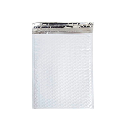 "Air Jacket Lightweight Plastic Bubble Mailers 8.5"" X 11.5"" 100/CASE"