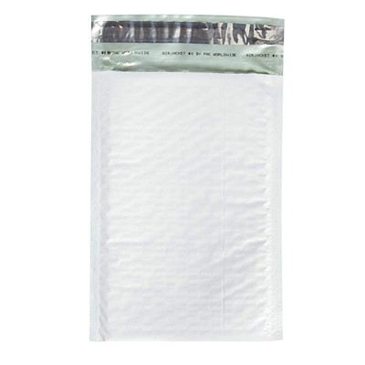 "Air Jacket Lightweight Plastic Bubble Mailers 6"" X 9.25"" 100/CASE"