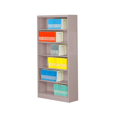 HON Open Shelf High-Density Filing Cabinet OPEN CABINET 2 DIVIDERS/SHELF 75-7/8HX36X13-3/4D