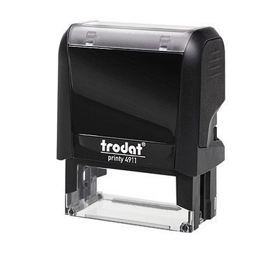 Trodat Printy Self-Inking Custom Stamp  8 LINES OF TYPE IDEAL FOR RECTANGULAR BORDER STAMPS