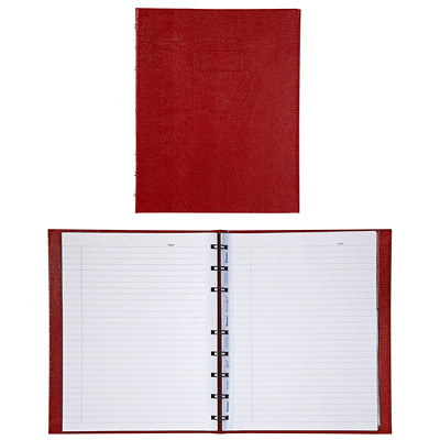 "Blueline MiracleBind Notebook RED 150 PAGES SIZE : 9-1/4"" X 7-1/4"""