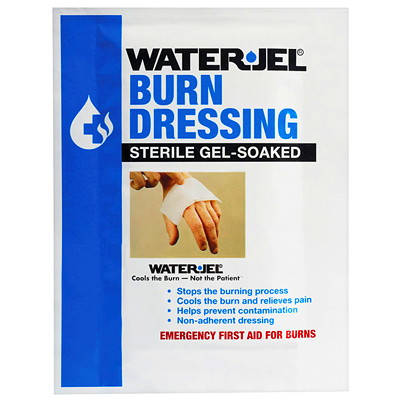 "Water-Jel Sterile Gel-Soaked Burn Dressing, 2"" x 6"""