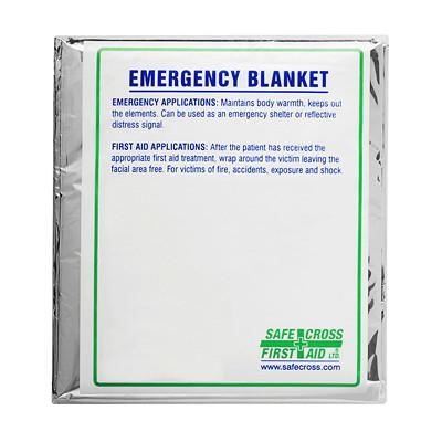 SAFECROSS Lightweight Foil/Mylar Emergency Blanket