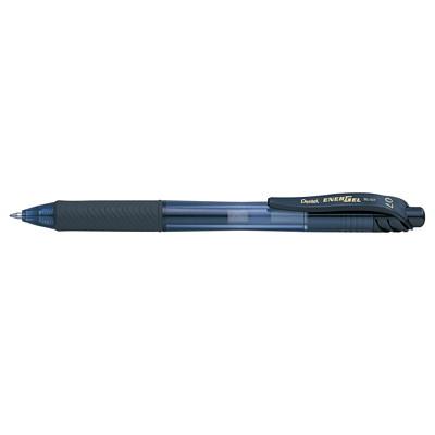 Pentel EnerGel-X Retractable Liquid Gel Pen, Black, Medium, 0.7 mm 0.7MM ROLLERGEL PEN