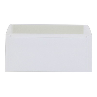 Grand & Toy White Open Side Business Envelopes   PEEL-TO-SEAL