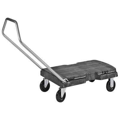 Rubbermaid Triple Trolley  WITH FOLDING HANDLE