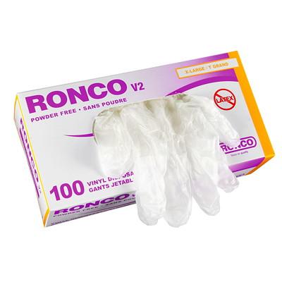 Gants jetables en vinyle V2 Ronco TRES-GRAND