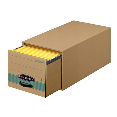 Bankers Box Recycled Stor/Drawer Steel Plus Storage Drawer STEEL RE-ENFORCED STORAGE DRWR 100% RECYCLED LETTER SIZE