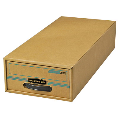 Bankers Box Enviro Stor/Drawer File 9WX4-1/2HX24D 100% RECYCLED INTERNAL LINER FELLOWS