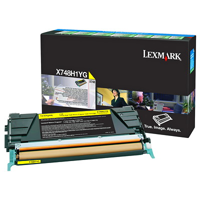 Lexmark Laser Cartridge HIGH YIELD - RETURN PROGRAM 10 000K