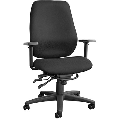 Horizon Cierra Mid-Back Multi-Tilter Chair SEAT DEPTH ADJUSTMENT MULTI ADJUSTABLE ARMS