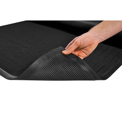 Mat Tech Mat-A-Dor Premium Scraper Entrance Mat, Black, 3' x 6'
