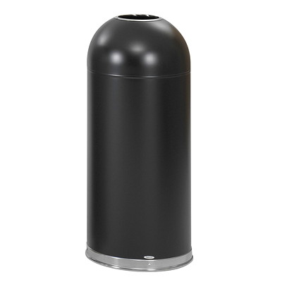 Safco Open Dome Top Garbage Can