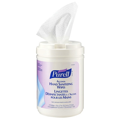 Purell Alcohol Hand Sanitizing Wipes W/ALCOHOL