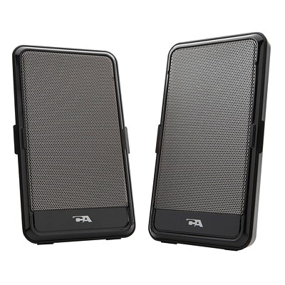 Cyber Acoustics 2-Piece USB Powered Speakers for Notebooks PORTABLE DESIGN CYBER ACOUSTICS