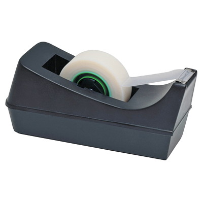 Westcott Slant Line Design Desk Tape Dispenser SLANT LINE DESIGN  BLACK