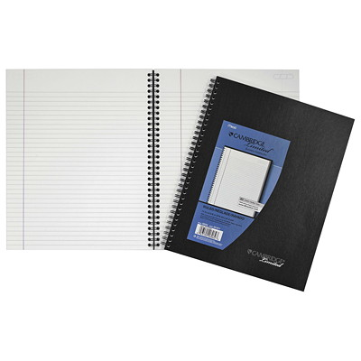 Cambridge Business Notebook RULED 20LB PERF. SHEETS W/ POLY 2-SIDED POCKET