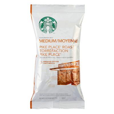 Starbucks Ground Coffee Portion Pack 2.5OZ PACKS  BOX OF 18
