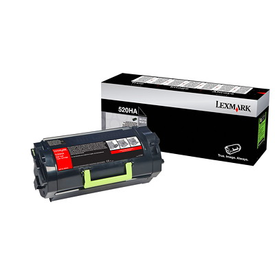 Lexmark Monochrome Black Cartridge  25000  PAGE YIELD