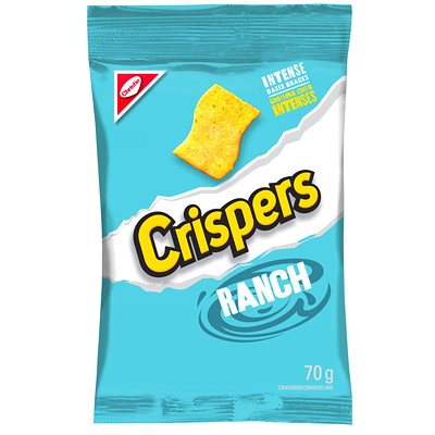 Christie Crispers Snack Crackers  12 BAGS PER CASE