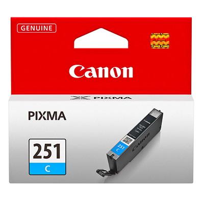 Canon 251 Cyan Inkjet Cartridge (6514B001) CLI-251 C