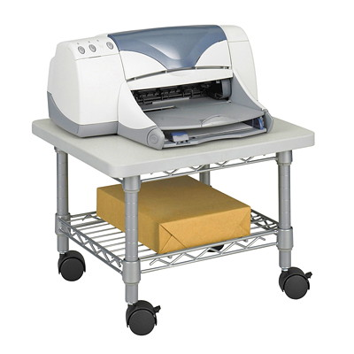 Safco Under Desk Printer/Fax Stand 300 LBS CAPACITY