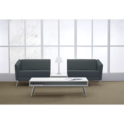 Global Wind Coffee Table DESIGNER WHITE LAMINATE