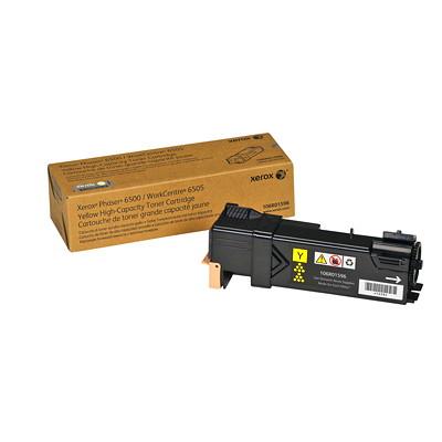 Xerox Phaser 6500 Yellow High Yield Original Toner Cartridge (106R01596) HIGH CAPACITY 2 500 PAGE YIELD