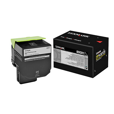 Lexmark Laser Cartridge EXTRA HIGH YIELD CARTRIDGE 8000 PAGE YIELD