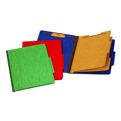 Chemise de couleur vert à intercalaires format lettre (8 1/2 po x 11 po) Pendaflex 2PO EXT  2 INTERCALAIRE 6 SERRE-FEUILLES