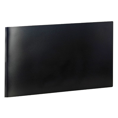 "Cardinal ReportPro Portfolio With Fasteners 11""X17"" BLACK UP TO 30 SHEETS ACID-FREE  TRANSFER-SAFE"