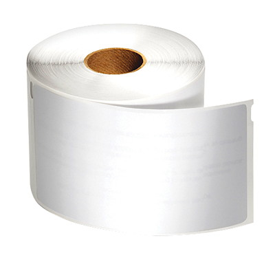 """DYMO LabelWriter Name Badge Thermal Labels, White, 2 1/4"""" x 4"""", 250 Labels/BX   NAME BADGE"""