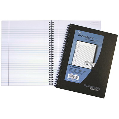 Cambridge Business Notebook FOR CAMBRIDGE LIMITED REFILLBL NOTEBOOK #06589