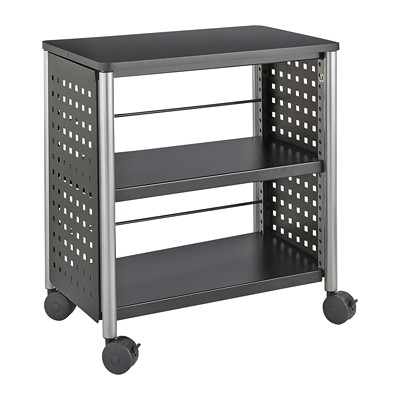 Safco Scoot Bookcase PERFORATED STEEL SIDES