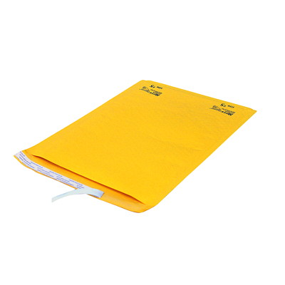 "Air-Kraft Self-Adhesive Kraft Bubble Mailers INTERNAL DIM: 10 1/2''X15 1/8"" EXTERNAL DIM: 11 1/2""X15 5/8"""