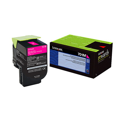 Lexmark Laser Cartridge RETURN PROGRAM 1000 PAGE YIELD