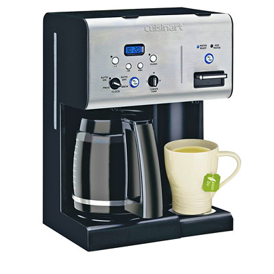 Coffee PLUS 12-Cup Programmable Coffeemaker and Hot Water System 12 CUP PERFECT TEMP. PROGRAM INCL HOT WATER DISPENSER